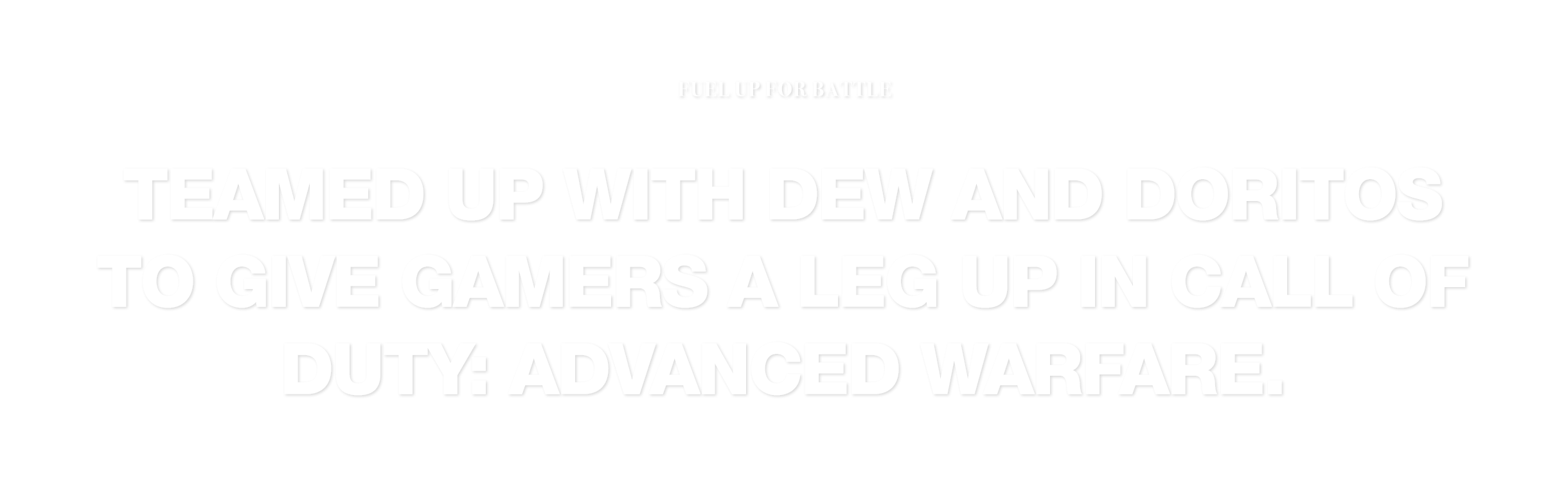 Mountain Dew – Fuel Up For Battle